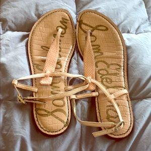 Sam Edelman size 9.5 sandals in leather